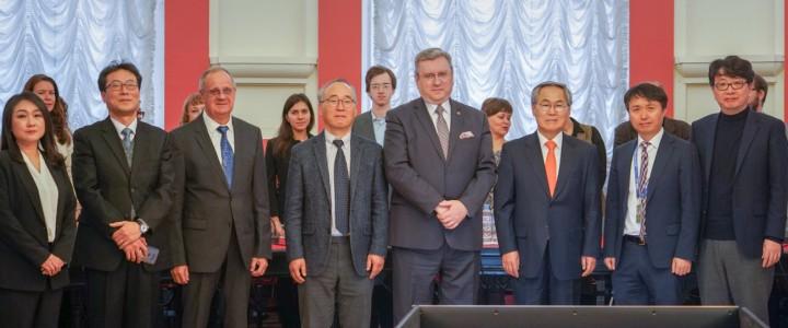 В МПГУ прошел российско-корейский семинар по учебным материалам