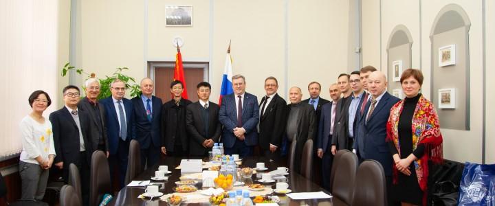 Визит делегации Педагогического университета центрального Китая в МПГУ