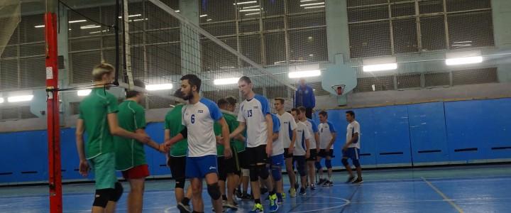 Межфакультетский турнир по волейболу