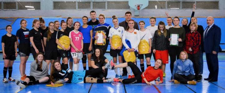 В Институте физической культуры, спорта и здоровья прошел I женский чемпионат по мини-футболу среди курсов