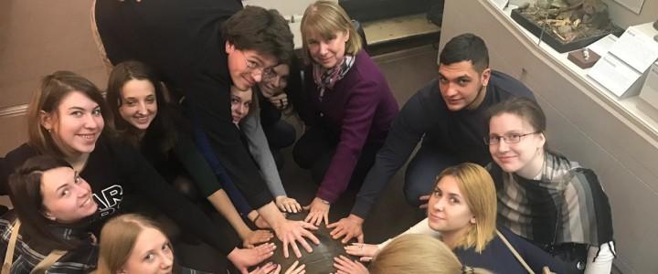 Студенты 5 курса Института биологии и химии посетили биологический музей им. К.А. Тимирязева в рамках курса «Экологическое воспитание на уроках биологии»