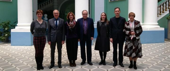 Представители Посольства Франции в Москве в МПГУ