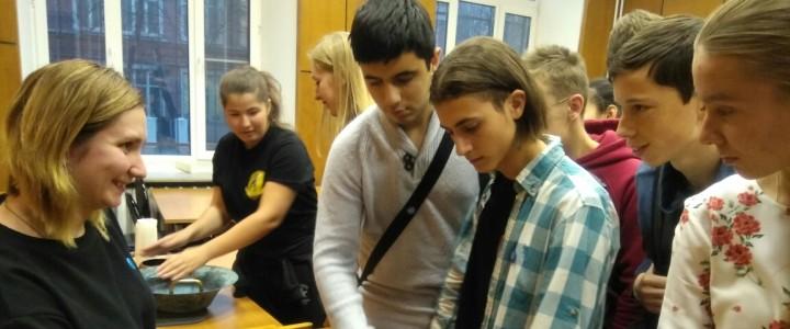 Студенты Колледжа МПГУ на Дне открытых дверей Института физики, технологии и информационных систем