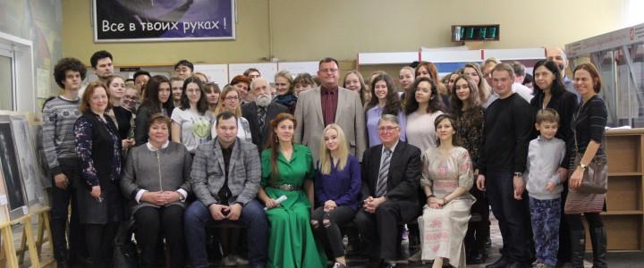 Отчетная выставка по итогам летнего пленэра 2018 года «Родные просторы»