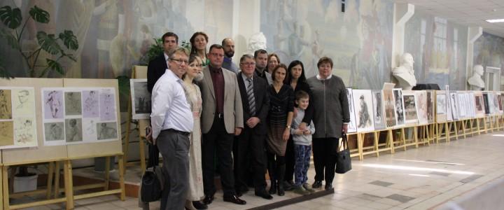 Конкурс учебного рисунка, посвященный 65-летию кафедры рисунка ХГФ ИИИ МПГУ
