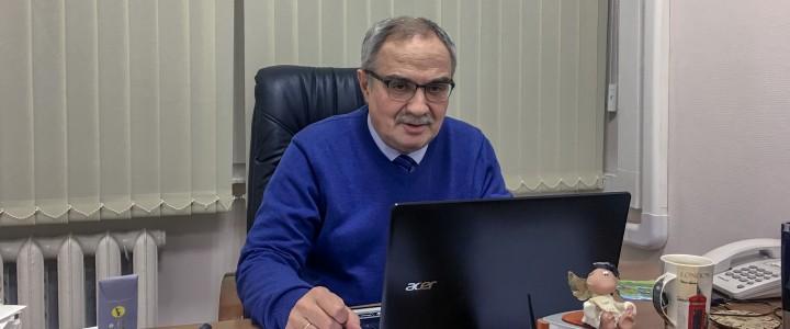 Переговоры директора Института иностранных языков С.А.Засорина с руководством Городского колледжа Единства (г. Афины, Греция).