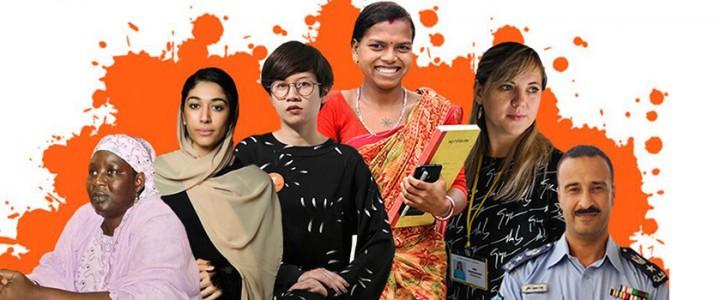 Сделаем Мир оранжевым! Всемирная акция по прекращению насилия в отношении женщин и девочек