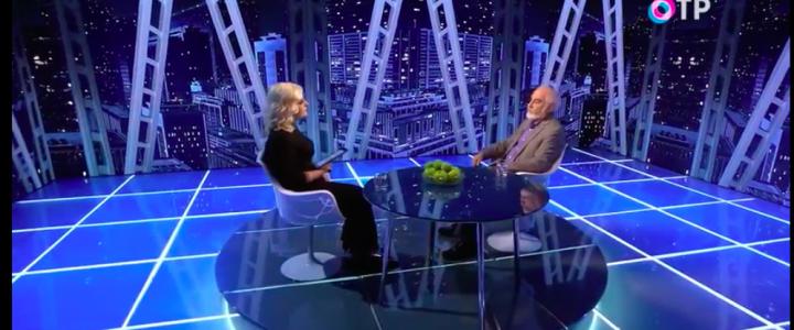 Интервью с Г.Н.Гольцманом на телеканале ОТР