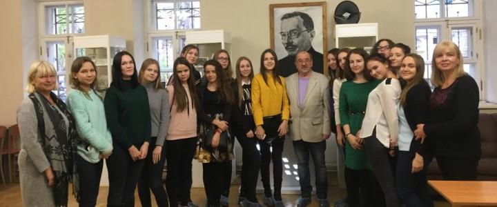 Экскурсия в Московский музей образования