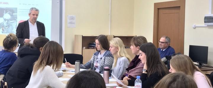 Сотрудничество кафедры методики преподавания иностранных языков с Венской высшей педагогической школой.