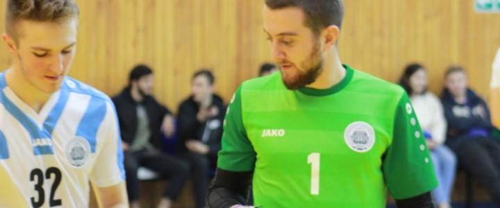 Мужская сборная МПГУ по мини-футболу провела свой первый домашний матч в чемпионате Высшей Лиги МССИ