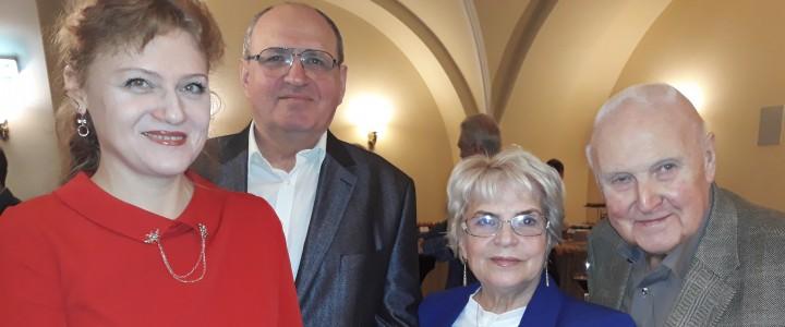 Представители МПГУ приняли участие в VIII Съезде Союза журналистов Москвы