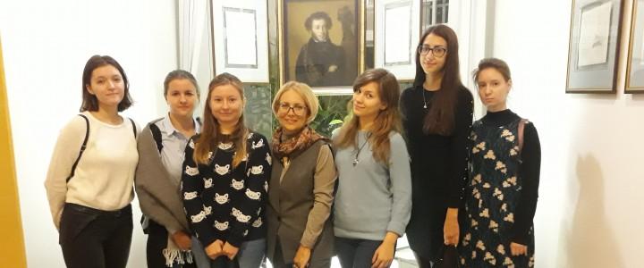 Методические семинары в литературных музеях г. Москвы