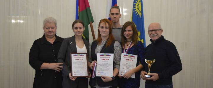 Награждение победителей IX студенческой спартакиады по военно-прикладным видам спорта муниципального образования город-курорт Анапа
