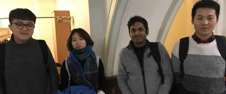 Китайские студенты посетили концерт в Московской государственной консерватории имени П.И.Чайковского