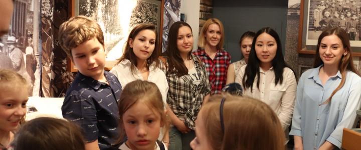 Студенты Института филологии в Московском литературном  Музее-Центре К. Г. Паустовского: опыт сотрудничества