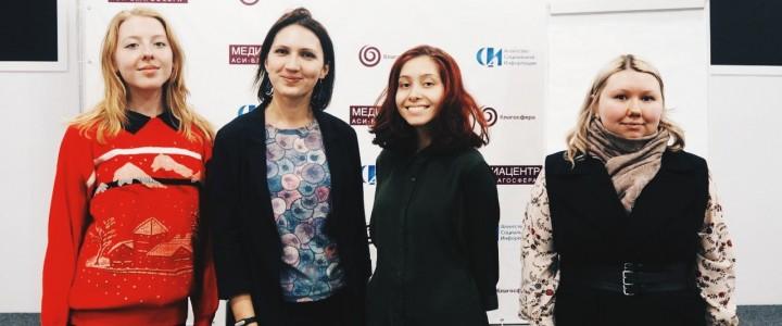 Выездное занятие студентов-культурологов в медиаклубе «АСИ-Благосфера»