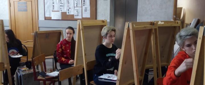Университетская среда Лицея МПГУ на Художественно-графическом факультете Института изящных искусств
