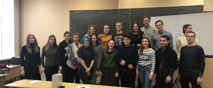 Студенческая конференция в Институте математики и информатики с преподавателями Института международного образования