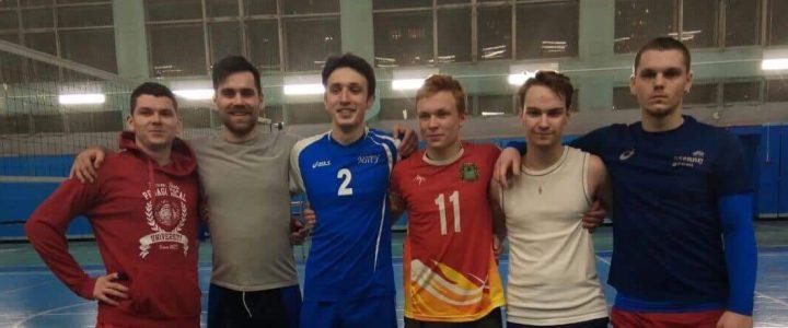 Успехи наших мужских сборных по волейболу и настольному теннису