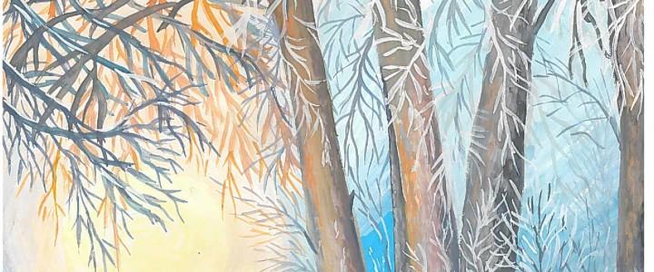 Поздравляем Анастасию Васильевну Орешкину с победой творческом конкурсе «Зимний вечер»