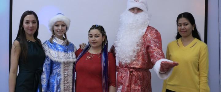 В Покровском филиале прошла праздничная новогодняя программа