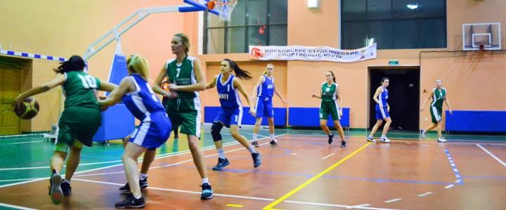Женская сборная МПГУ по баскетболу вышла в плей-офф регулярного чемпионата Москвы среди студенческих команд