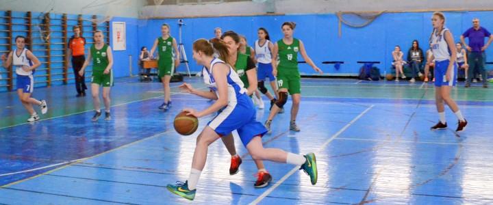 Женская сборная МПГУ по баскетболу обыграла команду РГАУ-МСХА