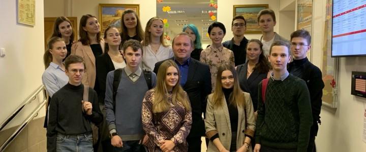 Студенты 3 курса Института биологии и химии отправились на педагогическую практику в Московские школы