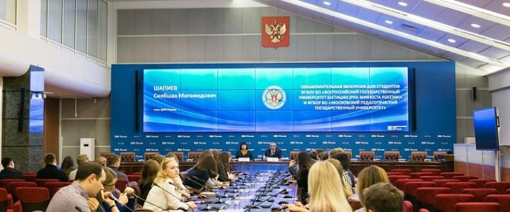 Молодые управленцы встретились с членом Центральной избирательной комиссии Российской Федерации Сиябшахом Шапиевым