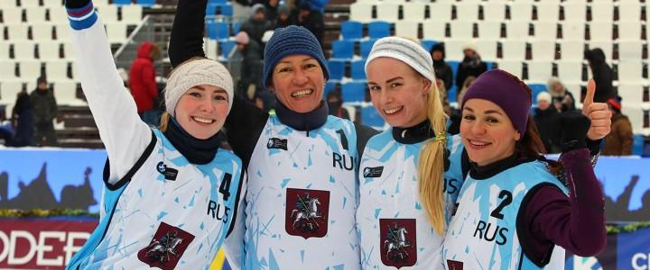 Студентка ИФКСиЗ Терентьева Елизавета в составе российской команды заняла II место на этапе Евротура по волейболу на снегу