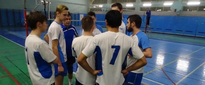 Полуфинал межфакультетского турнира по волейболу
