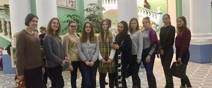 Студенты ИИЯ на предновогоднем вечере 20 декабря