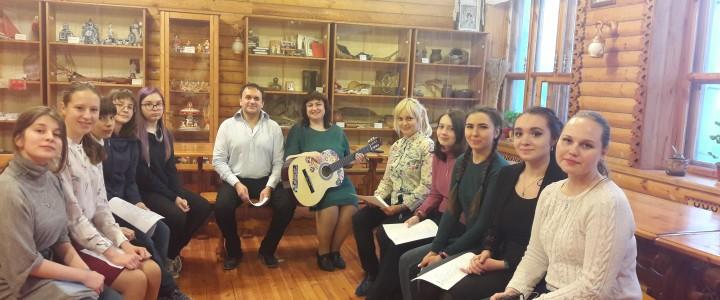 Литературно-музыкальная гостиная «Встреча», или С Новым годом!