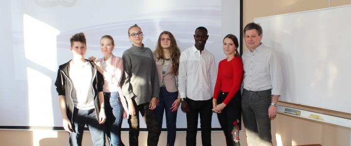 Таинственная Африка: урок географии в Лицее провел житель республики Чад