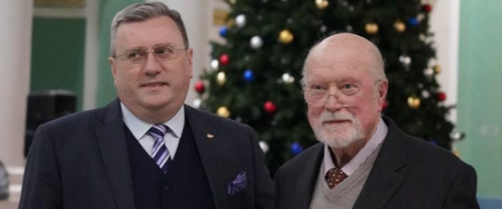 А.В. Лубков встретился с почетным профессором МПГУ В.Шмидтом