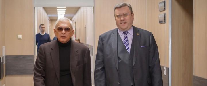 Ректор провел встречу с генеральным директором студии «Мосфильм» К.Г.Шахназаровым