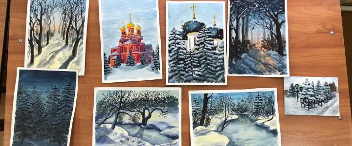 Отчетная выставка-просмотр творческих работ студентов направления «Педагогическое образование. Изобразительное искусство»
