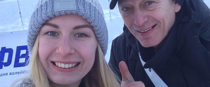 Елизавета Терентьева стала чемпионкой России по волейболу на снегу