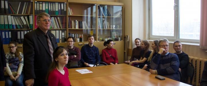 Отчетная конференция по педагогической практике у студентов кафедры рисунка