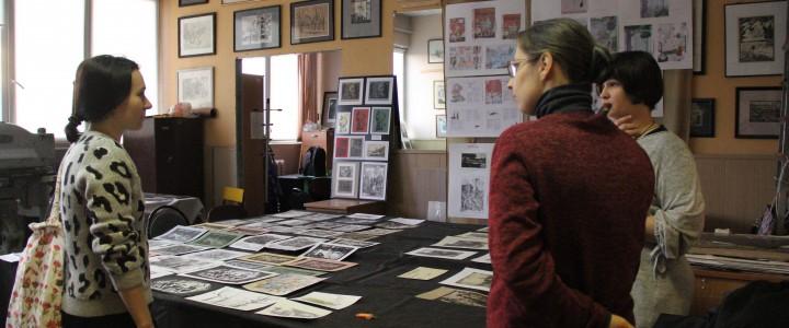 Отчетная выставка-просмотр учебно-творческих работ студентов кафедры рисунка