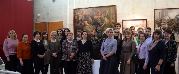 В Москве состоялся семинар «Музейная педагогика как ресурс партнерской деятельности музея»