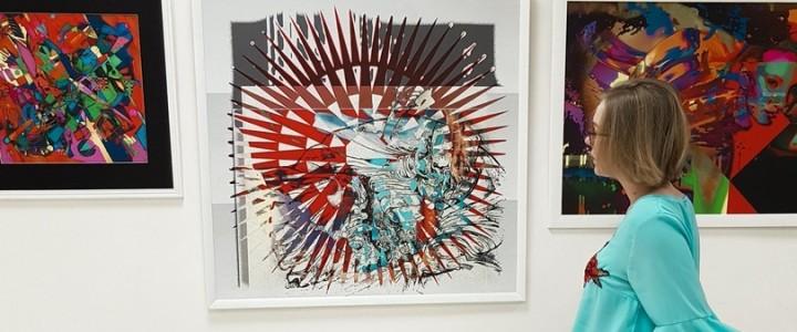 Каникулы – время для творчества: мастер-класс по абстрактной живописи для студентов МПГУ