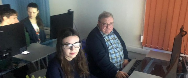 Магистранты МПГУ посетили мастер-класс по виртуальной реальности