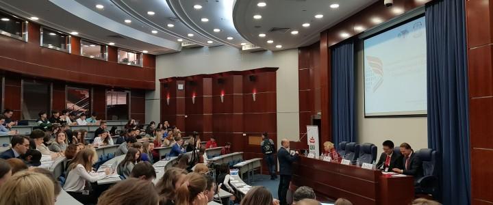 Студент Института иностранных языков представил доклад на Международном молодежном форуме МГИМО «Россия и Китай: взгляд в будущее»