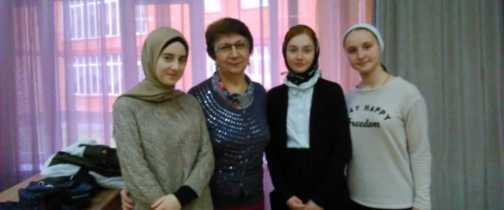 Преподаватели ИБХ приняли участие в подготовке обучающихся Чеченской республики к олимпиадам по биологии