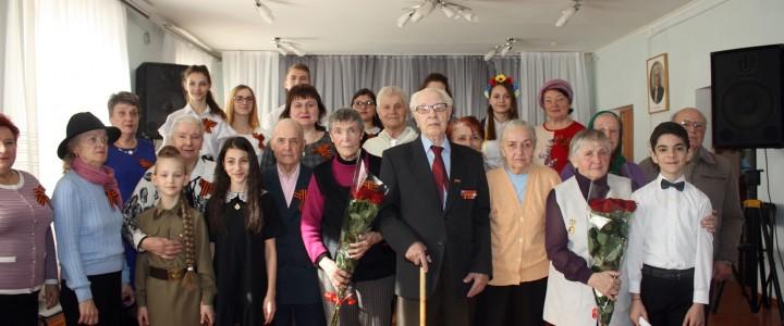 Студенты Ставропольского филиала МПГУ приняли участие в церемонии чествования ветеранов