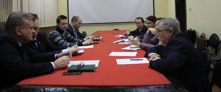 19 февраля 2019 г. прошла рабочая встреча авторов многотомного издания по истории МПГУ