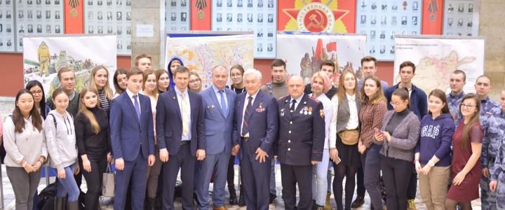 В преддверии празднования Дня Защитника Отечества в стенах нашего родного университета прошло торжественное мероприятие «Герои России»