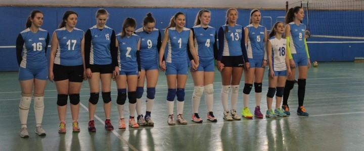 Победа женской сборной команды по волейболу!